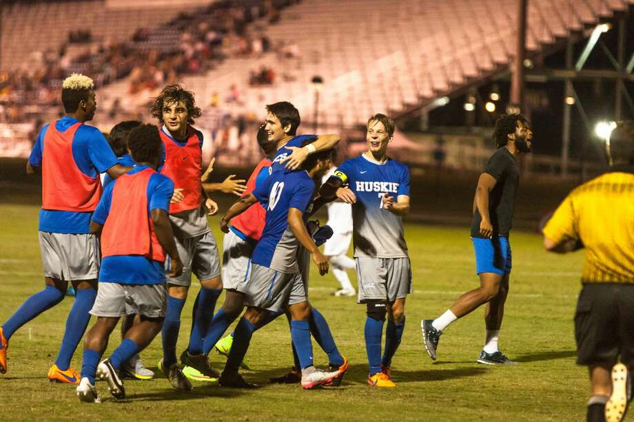 The Houston Baptist University men's soccer team took down No. 19 Seattle 3-1 for its first-ever victory against a ranked opponent.