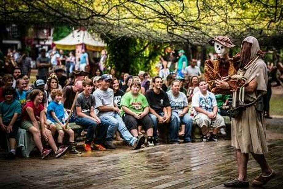The Texas Renaissance Festival will welcome approximately 50,000 students, grades K-12, from more than 75 school districts in Houston, Tomball, Magnolia, and even other states on Nov. 4 and Nov. 5 for the festival's 10th Annual School Days. Photo: Submitted