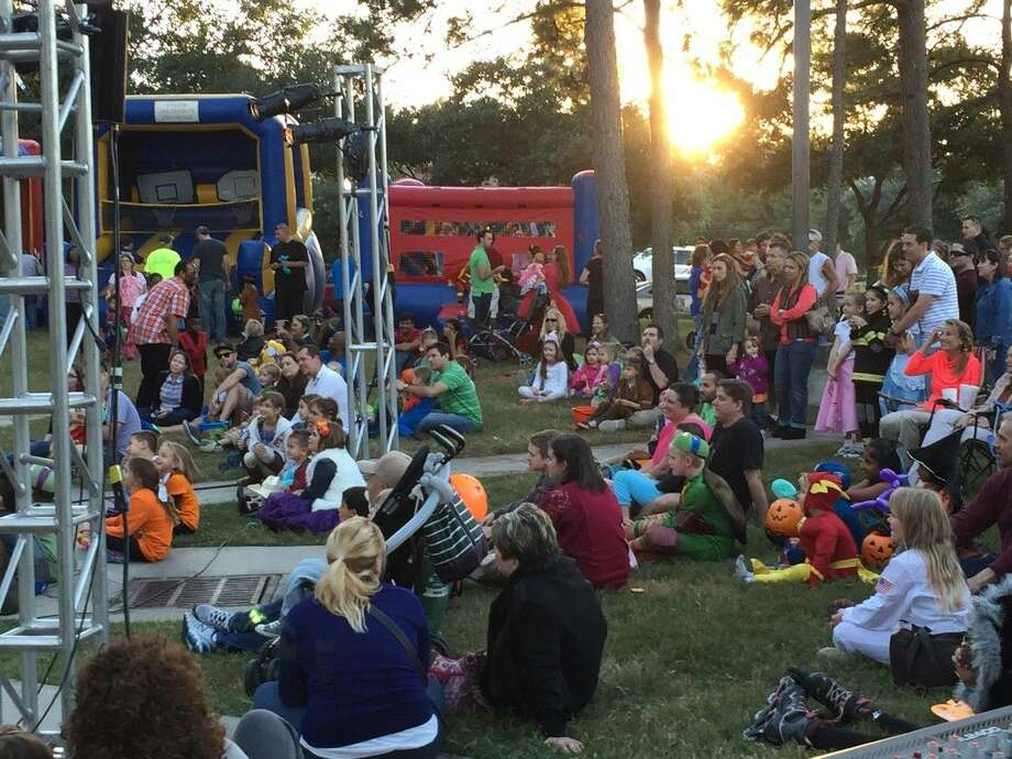 Delightful Families Enjoy Live Music At Last Yearu0027s Light The Night Fall Celebration.  The 2015 Light Great Ideas