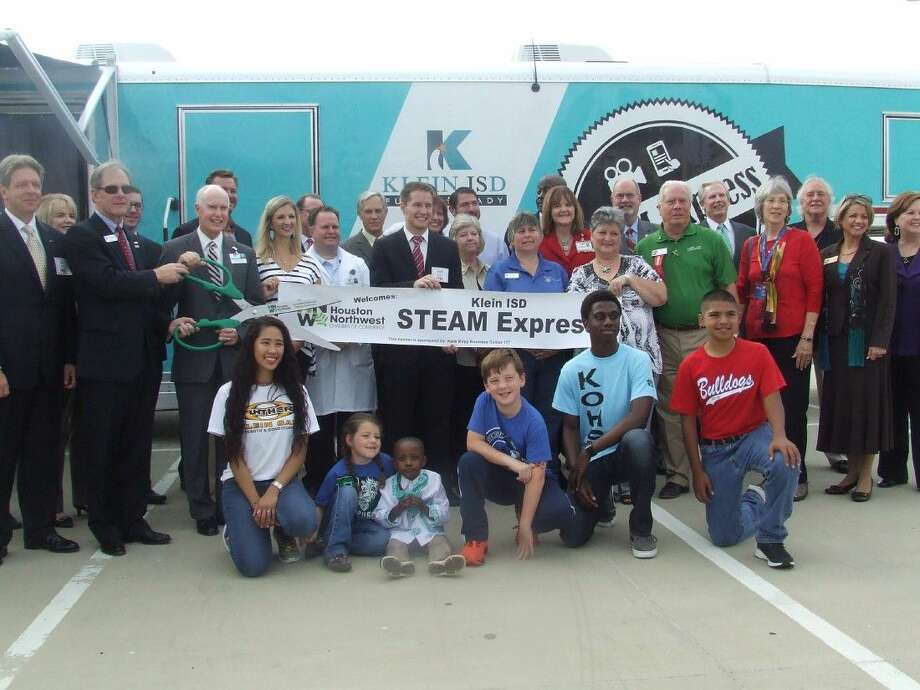 Klein ISD Education Foundation and KISD held a special media day on Wednesday, October 29, 2014 at the Multipurpose Center to introduce the S.T.E.A.M. Express. The S.T.E.A.M. Express is set to rollout to campuses this year.