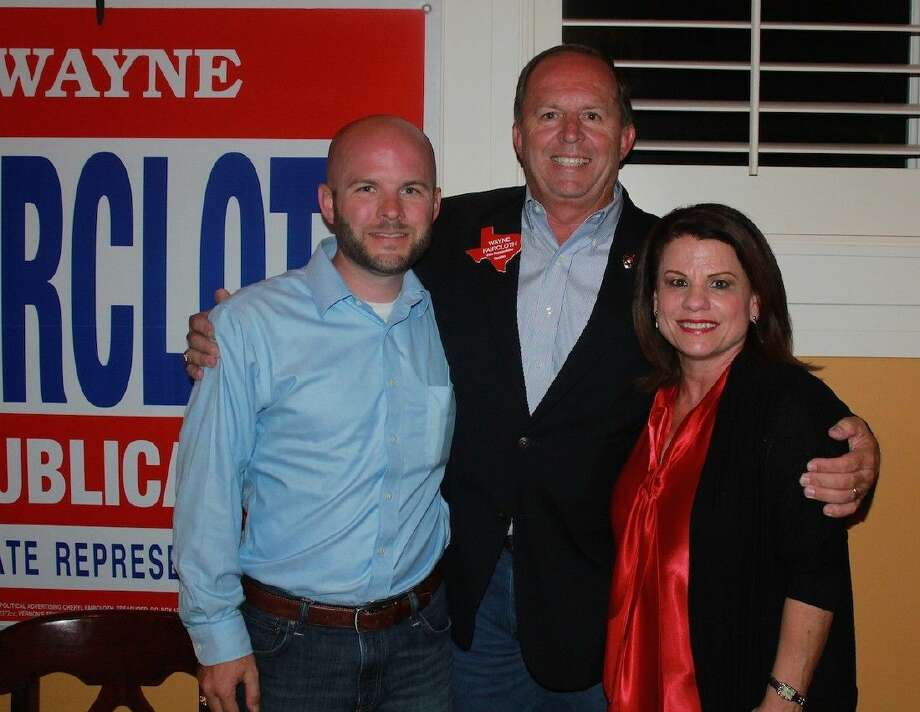 Casey, Wayne and Cheryl Faircloth.