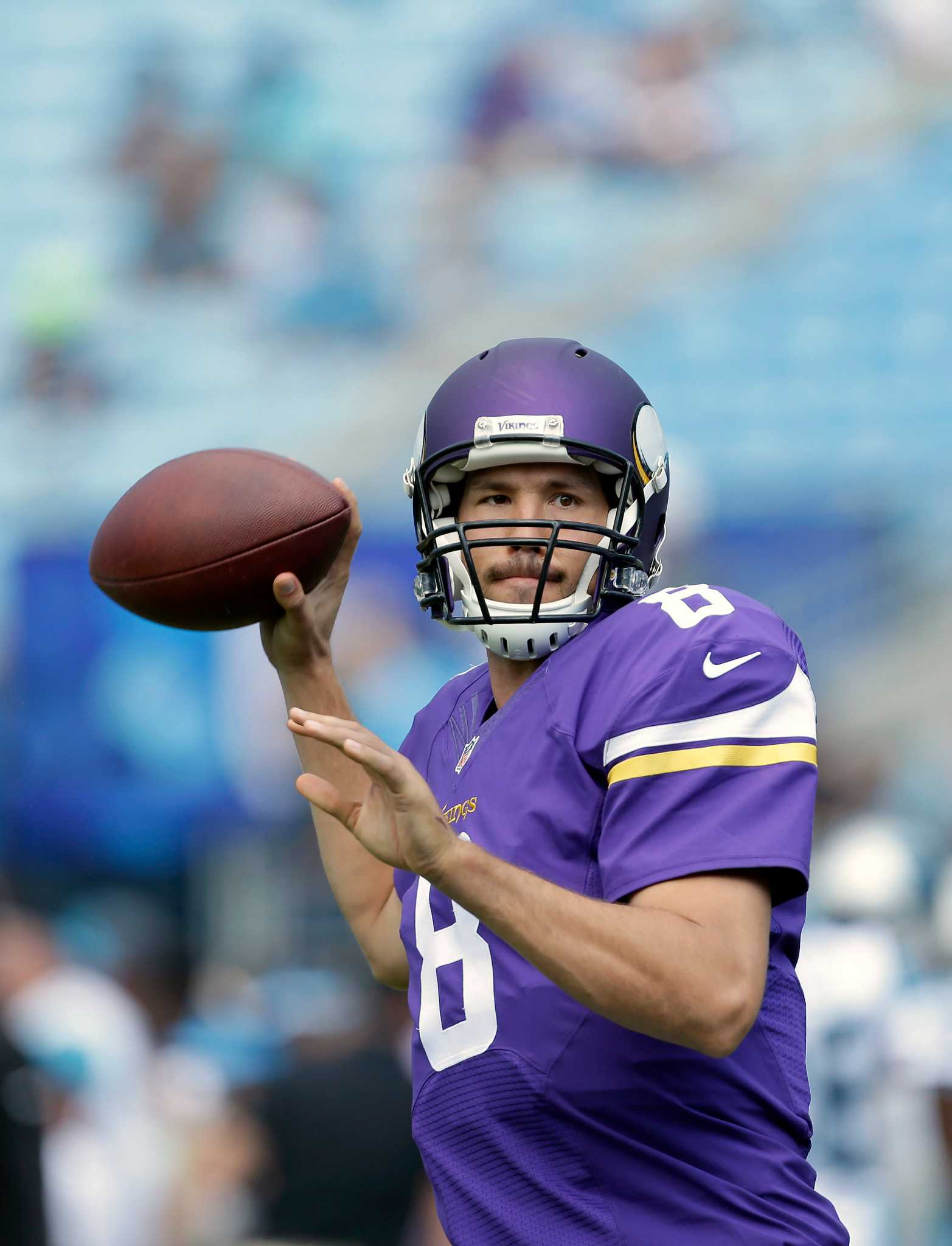 Sam Bradford A Revelation At Qb For Unbeaten Vikings