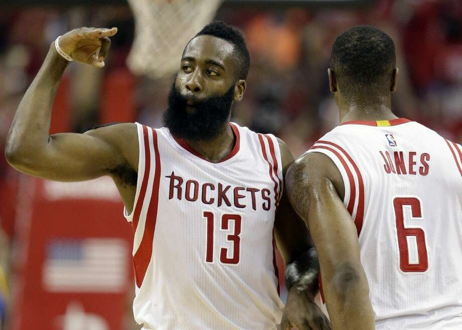 b128f61fa89f Rockets  James Harden recognized as best shooting guard in the NBA by  league executives