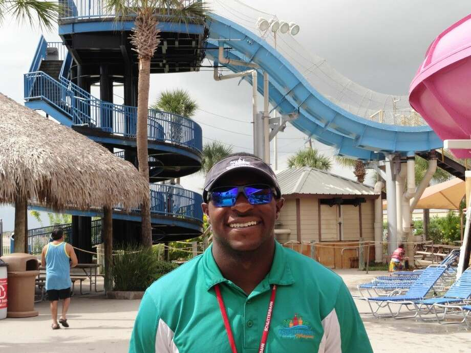 """Daniel """"DJ"""" Auzenne was honored with the World Waterpark Association's Emerging Leaders Employee of the Year Award, recognizing DJ's amazing track record of delivering over the top service to guests at Schlitterbahn Galveston Island."""