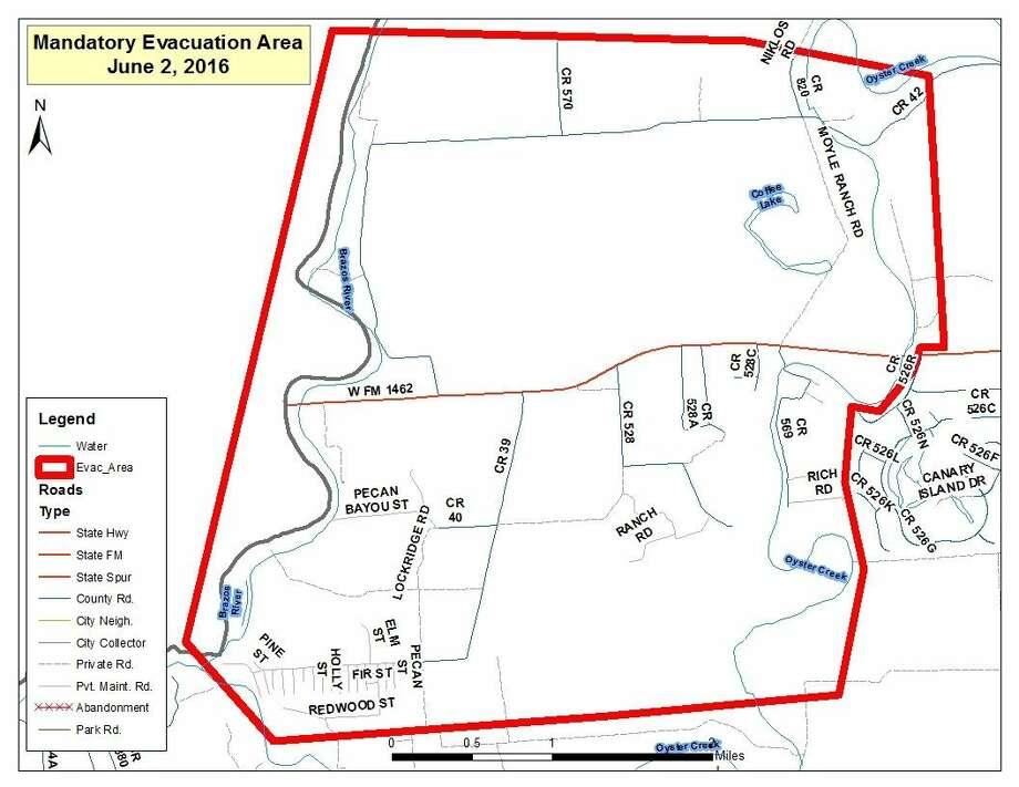 Judge issues mandatory evacuation order for Brazoria County ...