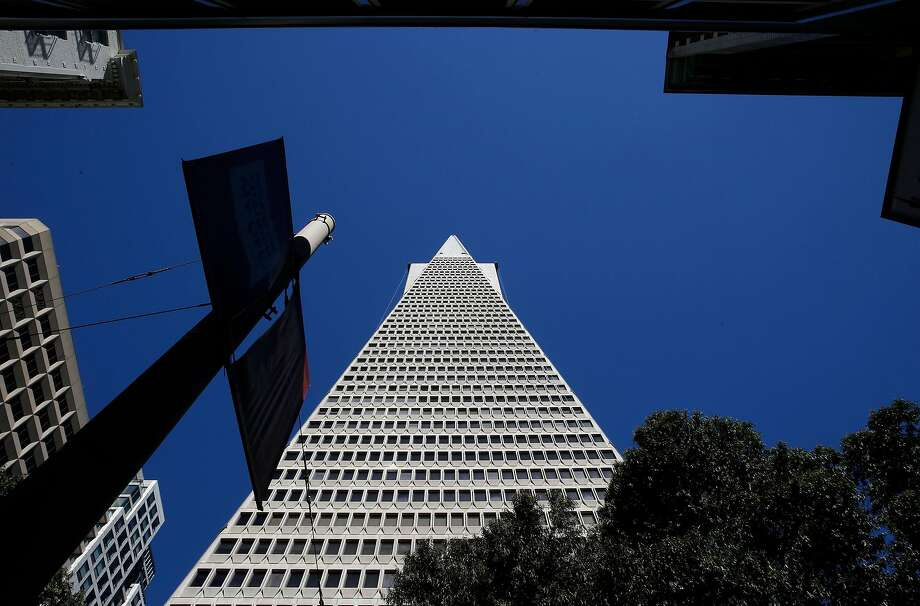 The Transamerica Pyramid is on sale for the first time in the building's history. Photo: Michael Macor, The Chronicle