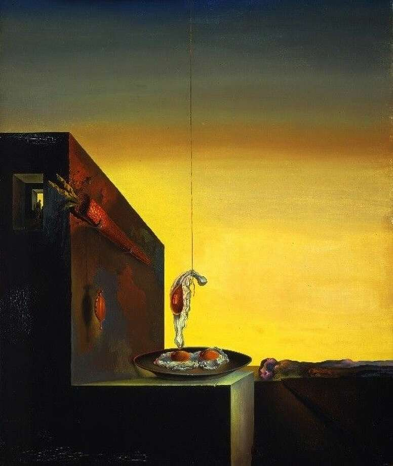 Salvador Dalí, Eggs on the Plate without the Plate.