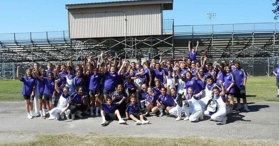 Dayton High School band finished in sixth place in the UIL Area F marching band contest on Oct. 28 in New Caney.  Photo: Submitted