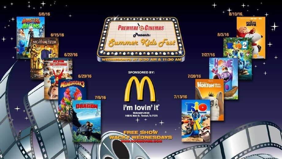 Premiere Cinemas is hosting Summer Kids Fest throughout the summer. Photo: Premiere Cinemas
