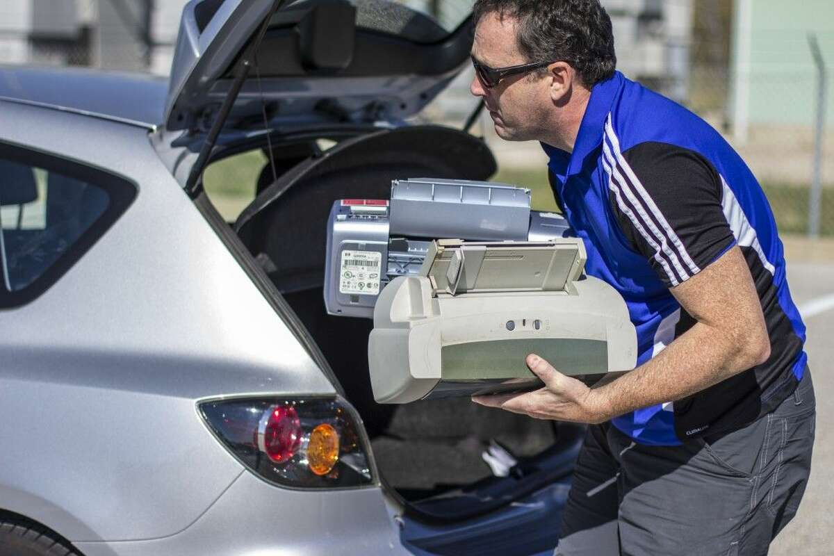 Last year there was enough electronics dropped off to fill two 18-wheelers - nearly 30,000 pounds of worth of stuff that has no place in landfills, along roadsides or sitting unused in garages or offices,