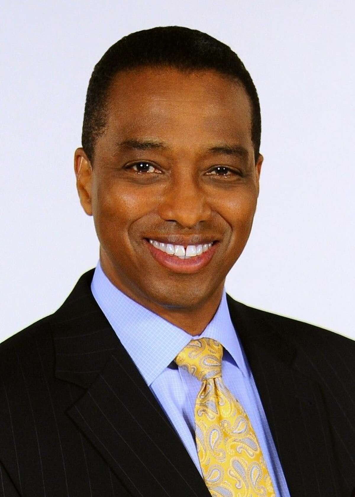 KPRC Local 2 Meteorologist Khambrel Marshall will be the keynote speaker at the San Jacinto College December commencement ceremony. Photo credit: KPRC Local 2.