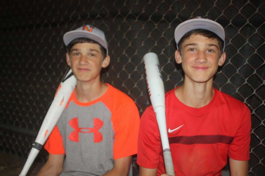 Opponents will be seeing double when they play the NASA Green All-Stars this summer. Identical twins Braeden (left) and Landen Shaffer could be helping the team at a host of positions. Photo: Robert Avery