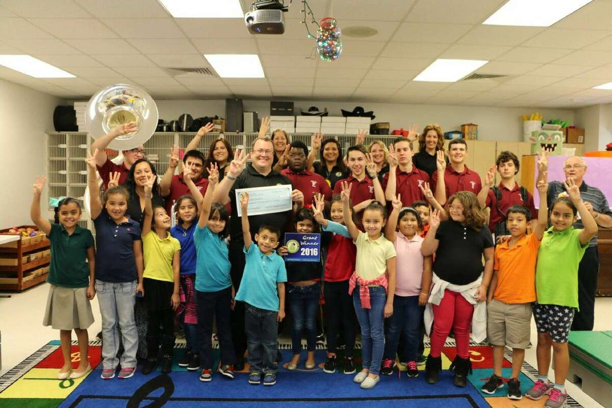 It's a three-peat! Mr. Brian Berlin, music teacher at Carleston Elementary, has received an Innovative Teaching Grant for three consecutive years.