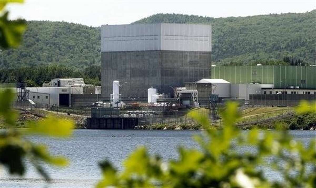 The Vermont Yankee Nuclear Power Station sits along the banks of the Connecticut River in Vernon, Vt. The plant was closed at the end of 2014.
