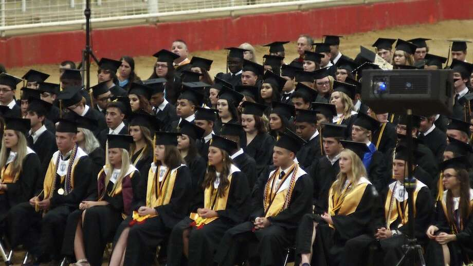 Liberty High School graduated some 152 seniors Friday night, June 3, at the TVE arena. Photo: Casey Stinnett