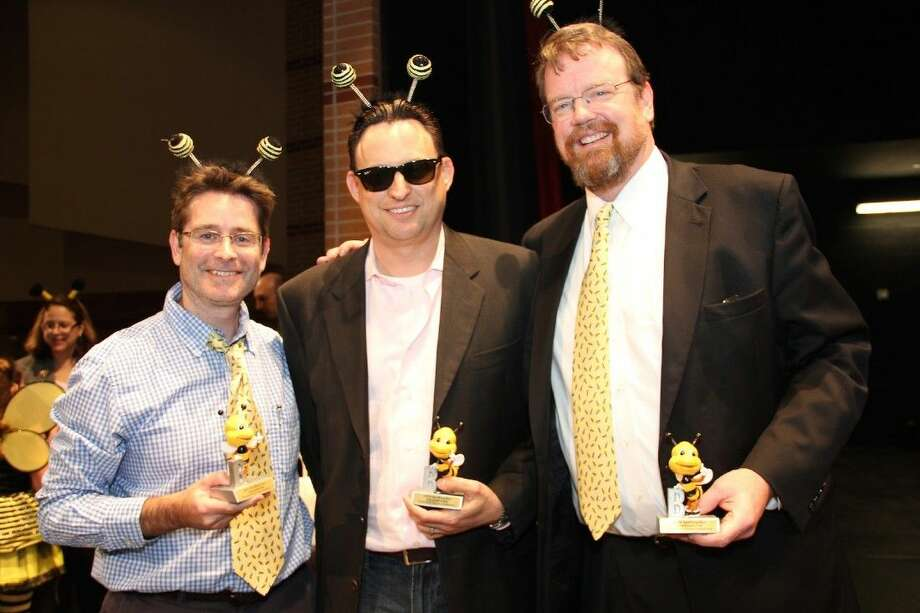 Bee winners Scott Durfee, John Floyd and Sean Marrelli.