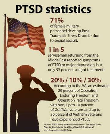Image result for veterans ptsd