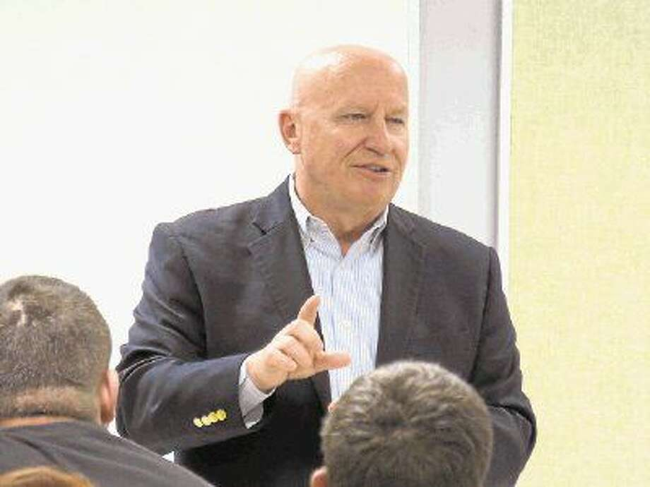 U.S. Congressman Kevin Brady visited with Splendora High School students on Tuesday, March 31, 2015. Photo: Stephanie Buckner