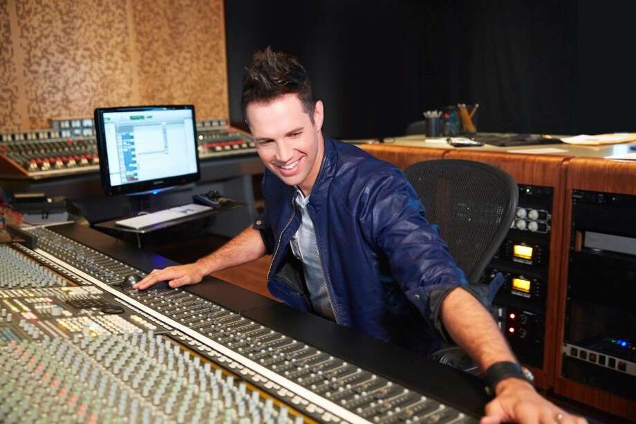 Osmond mixing tracks in his studio. The nephew of the famous Osmonds, Donnie and Marie, has written a song to promote awareness for Multiple Sclerosis. He was in town for the Walk MS: Houston event.