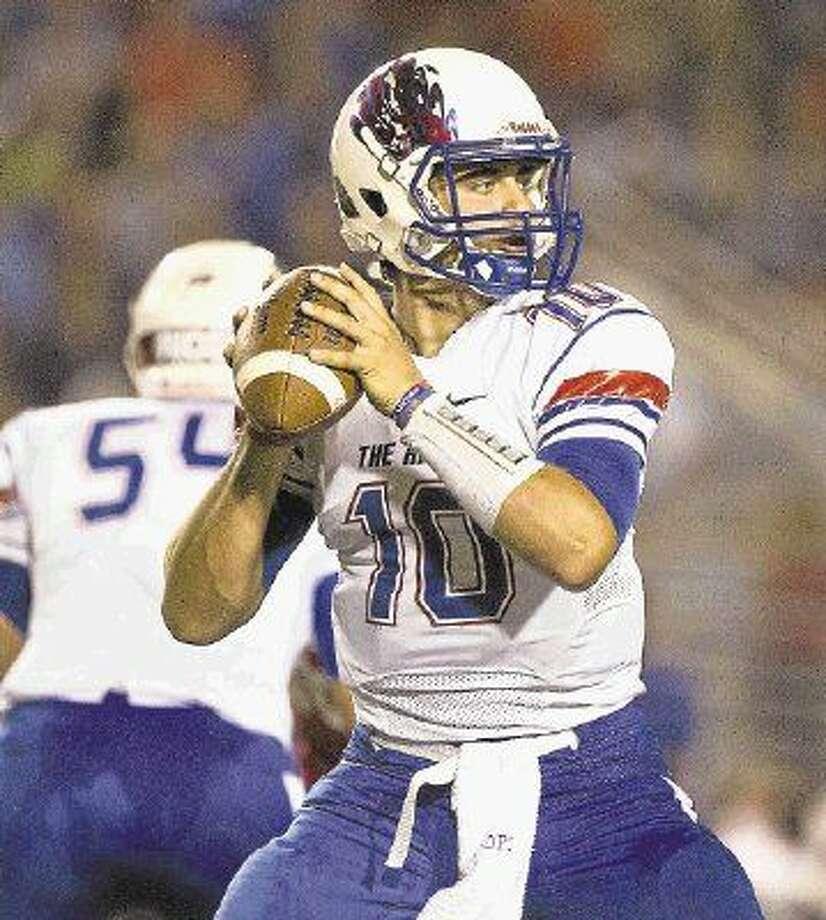 Oak Ridge quarterback Braden Letney and the War Eagles will host Klein Collins tonight.