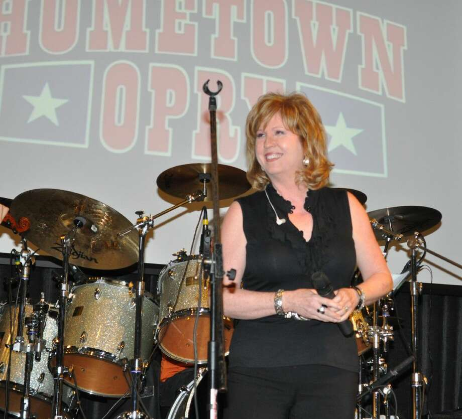 """Home Town Opry's favorite Kari Hlavinka adds to her Back-up role with a beautiful rendition of Crystal Gayle's """"Ready for the good times to get better."""""""