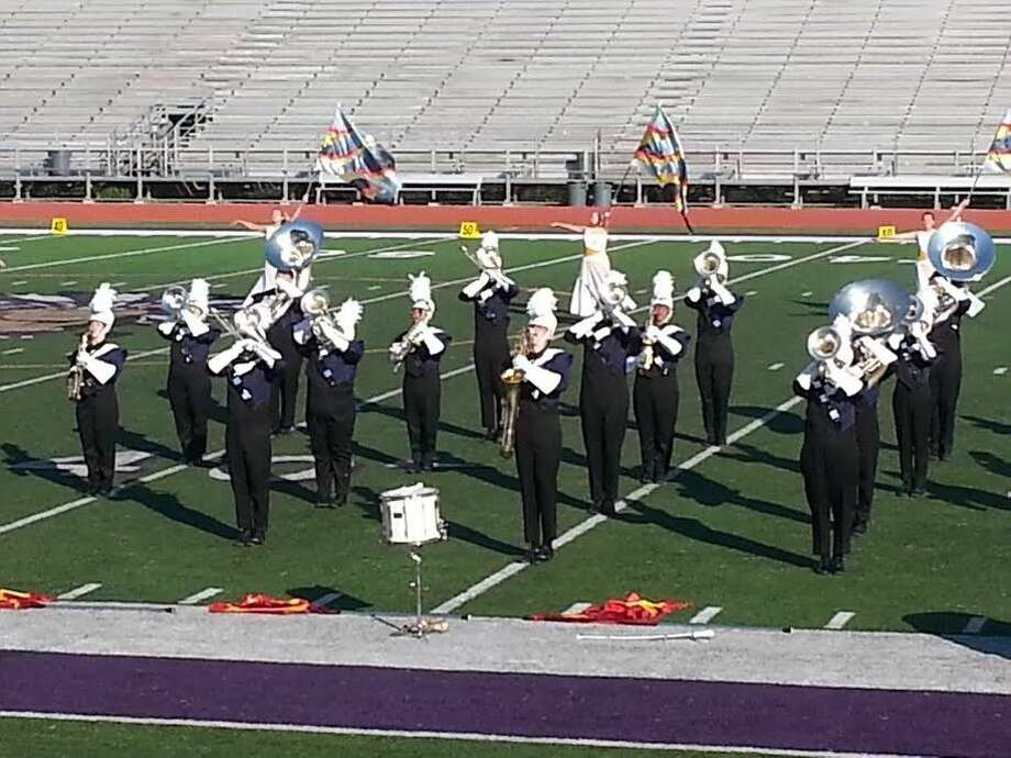 The Dayton Bronco Band claimed a first division rating at the Region X UIL Marching Contest on Oct. 18. Photo: Submitted
