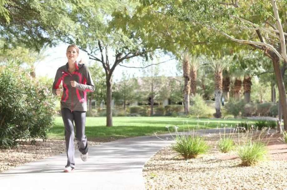 Get active! Head outdoors for at least 15 minutes a day — rain or shine.