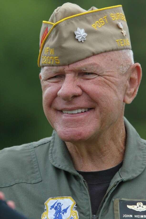 Silver Star recipient Air Force Lt. Col. John Heimburger (Ret.) Photo: CC Photo