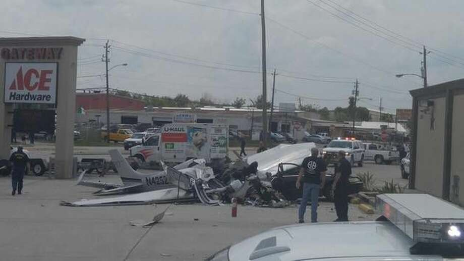 Three people died when a small plane crashed near Hobby Airport Thursday.