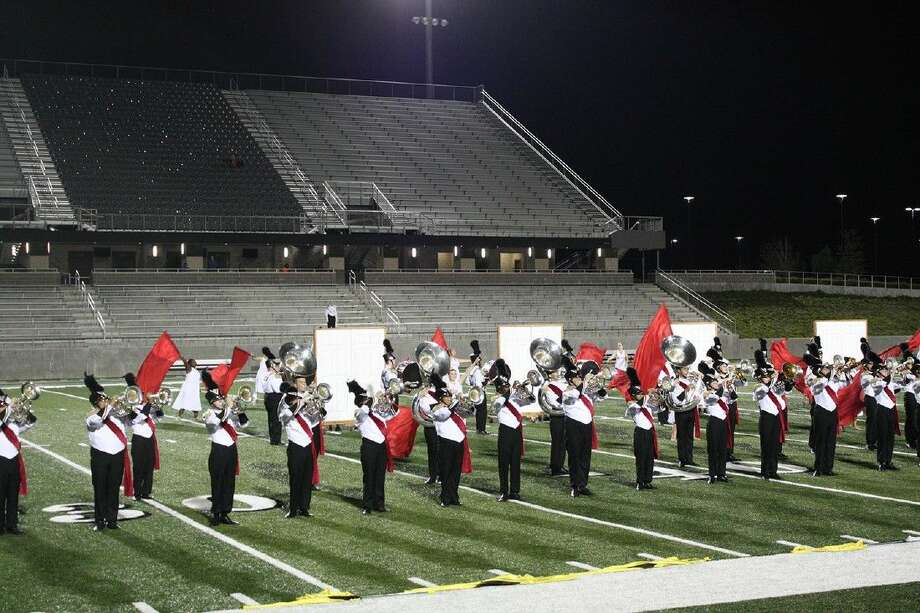 The Porter High School Band advanced to the finals of the Area F Marching Band Contest Wed., Oct 28, at Texan Drive Stadium, placing sixth in the finals and nearly earning a trip to the state contest.