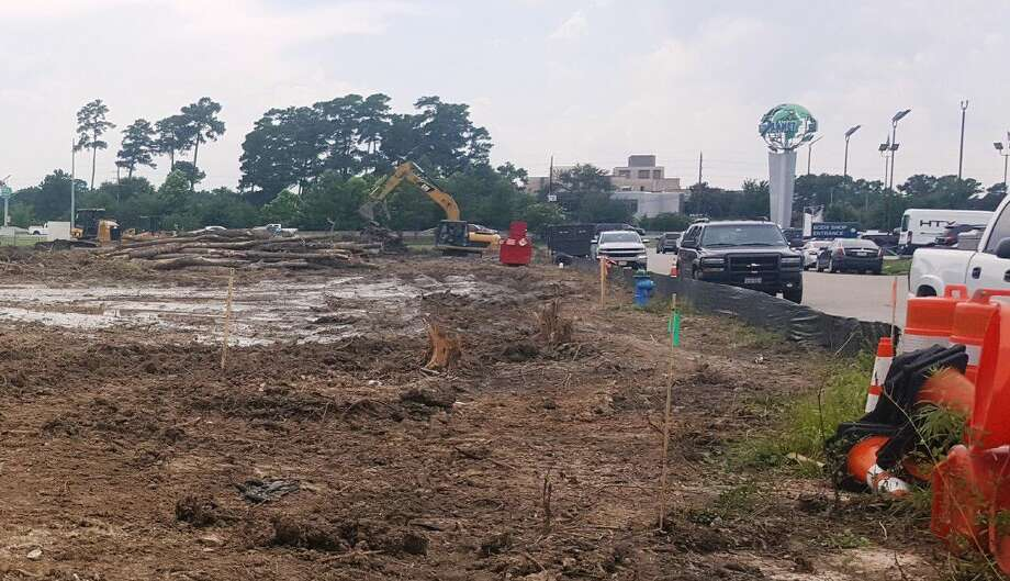 As of Thursday, June 9, 2016, the site at the corner of Eastex Freeway Service Road and Burdom Drive across from Randall Reed's Planet Ford has been cleared in preparation for the start of construction of a Rooms To Go coming to Humble.