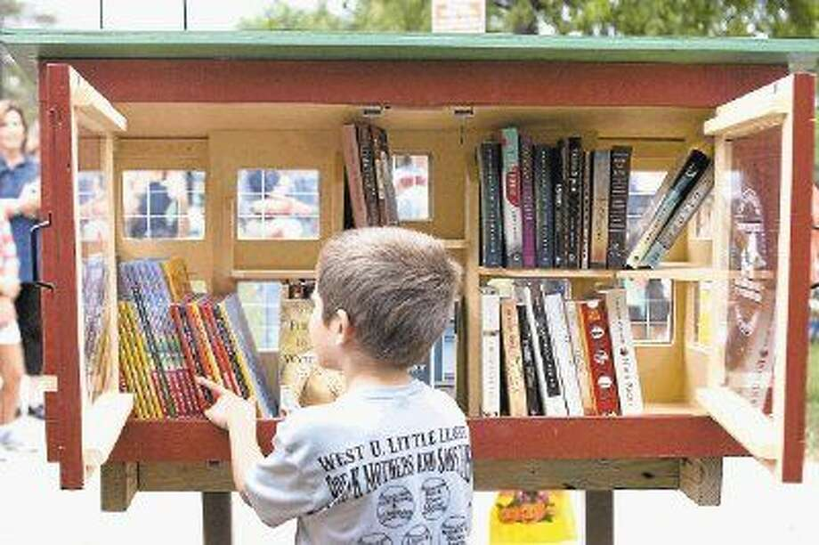 The Little Free Library movement, which seeks to promote literacy and community through free book exchanges, has come to West U.