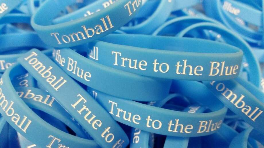 Everyone one attending True to the Blue ... Our Cops are Tops will receive a True to the Blue wrist band. Photo: Submitted