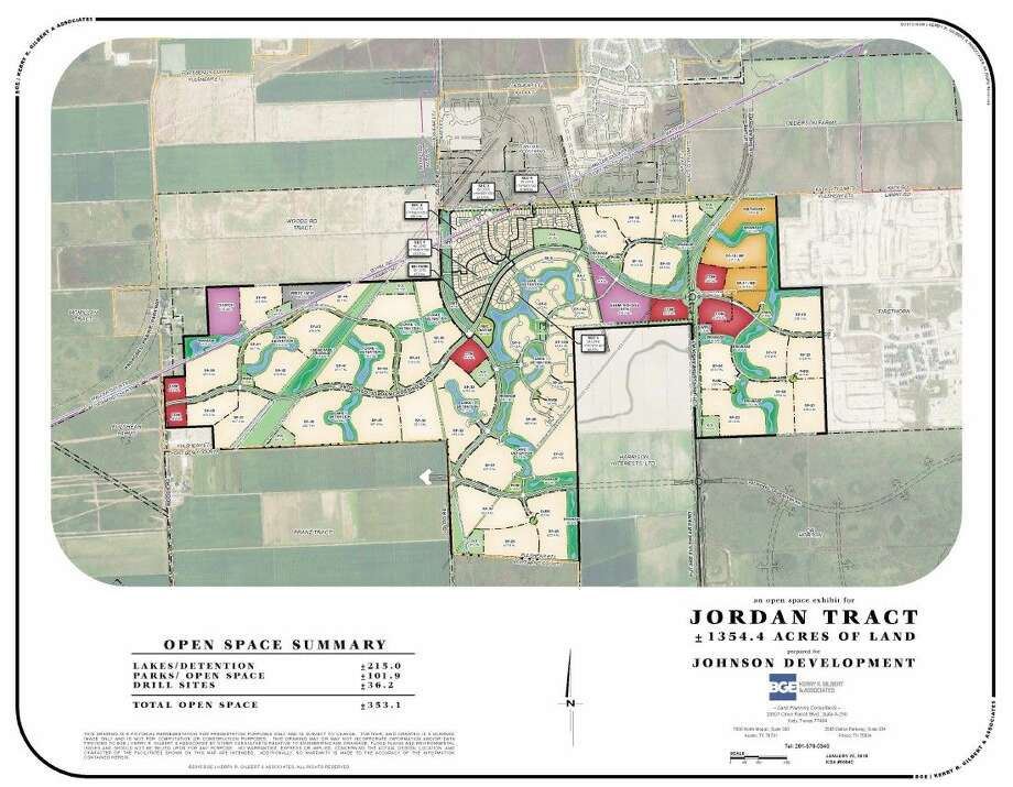 The Jordan Ranch residential community will provide residents easy access to the Energy Corridor. Lots on the 1,350-acre development will be complete and begin property sales by February of 2016.