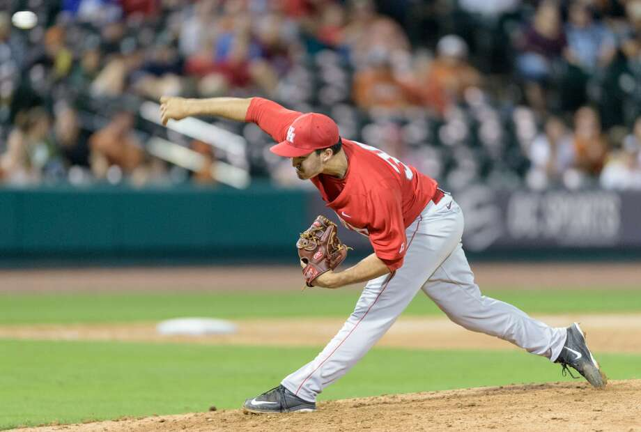Dulles graduate and University of Houston relief pitcher Nick Hernandez was selected by the Houston Astros in the eighth round of the 2016 MLB Draft. Hernandez recorded a 1.40 ERA, 11 saves and 67 strikeouts in 51 1/3 innings for the Cougars this season. Photo: UH Athletics Media Relations