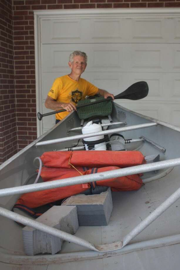 Roy Tyrone will be paddling from the stern when he and his partner compete in the 53rd annual Texas Water Safari, a grueling 260-mile test. The 71-year-old believes they can win the Aluminum Tandem division based on their first-place effort in the prelims last month. Photo: Robert Avery