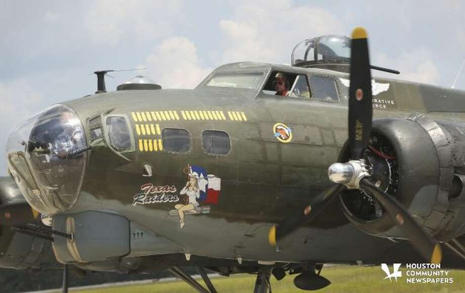 Visitors had the opportunity to tour a flying World War II B-17G Flying Fortress at Lone Star Executive Airport last August. Photo: Jason Fochtman