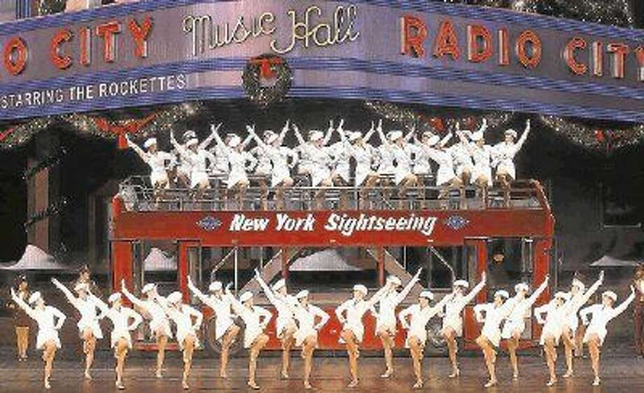 """A new number that has been added since the Rockettes were last in Houston is """"New York at Christmas"""" which features a life-size double decker bus and 50-foot LED screen."""