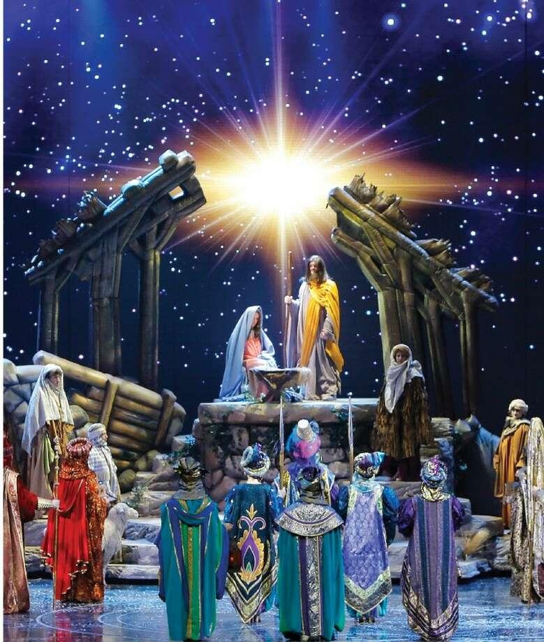 The Nativity scene from The Radio City Christmas Spectacular.