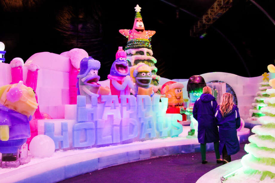 Moody Gardens Christmas.Moody Gardens Hits Attendance Guest Approval Records With