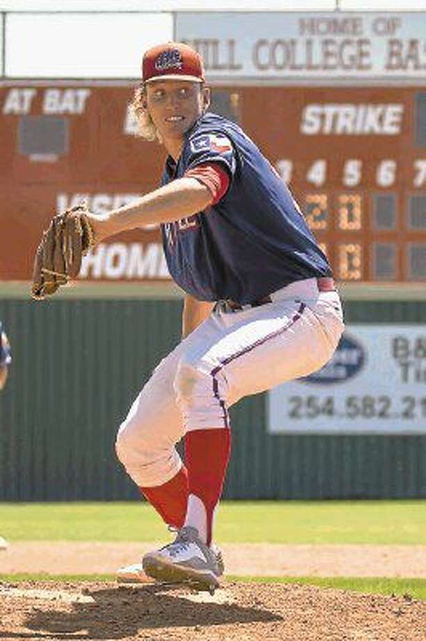 Former Magnolia West baseball player Trevor Stephan was drafted by the Boston Red Sox on Saturday.