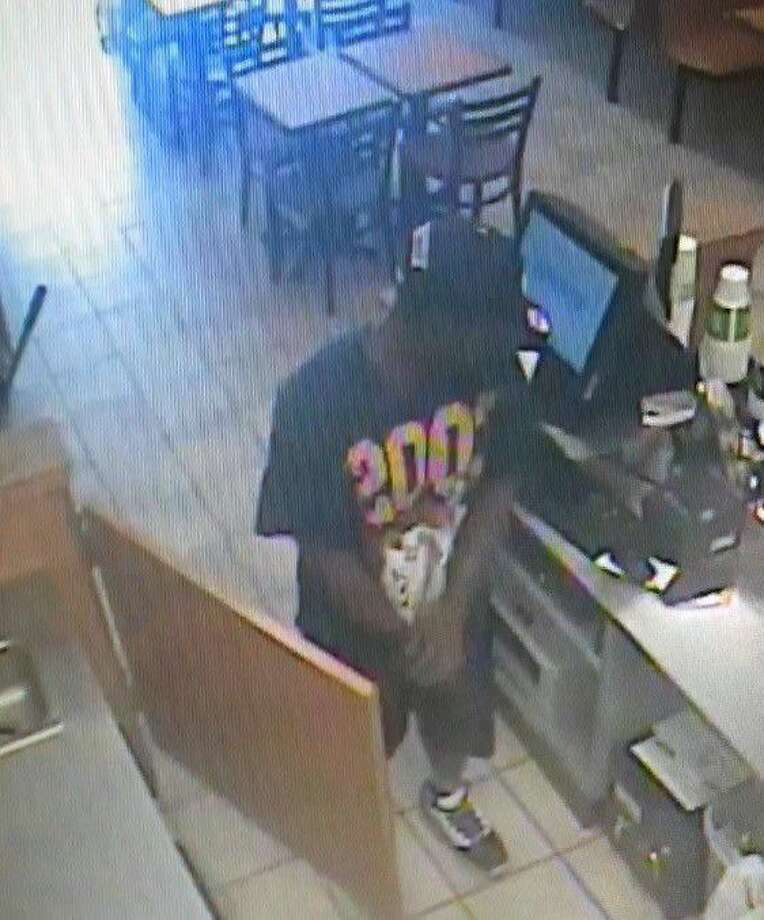 Police say this man robbed the Subway Restaurant in Cleveland on Monday.