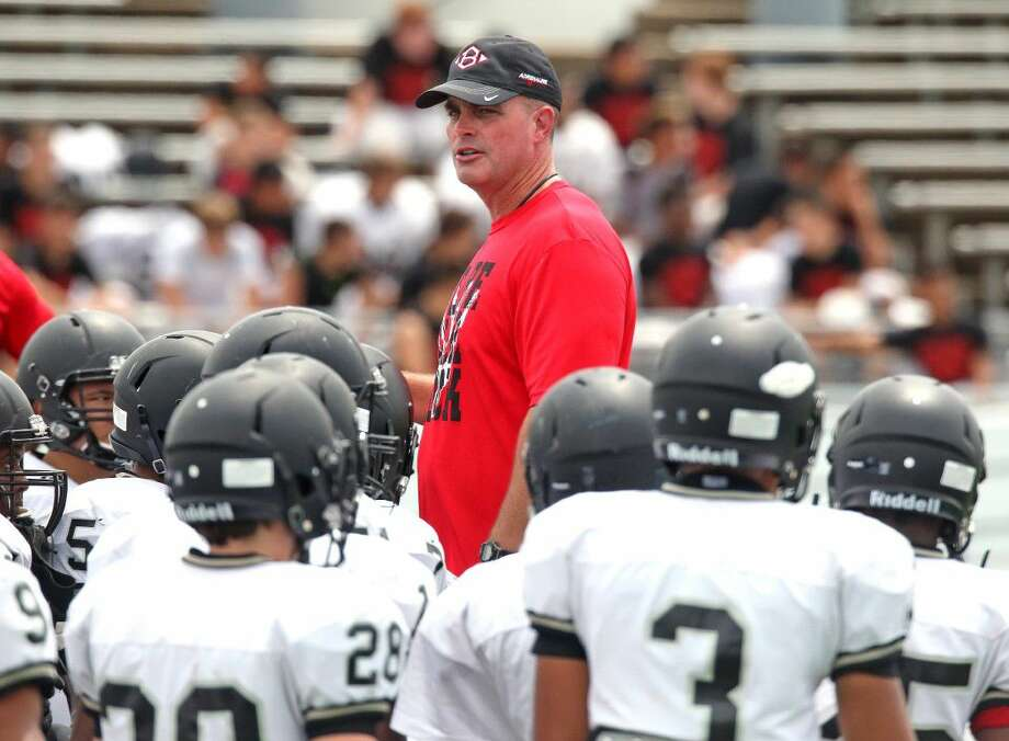 Clear Brook head football coach Mike Allison knows his team's summer conditioning will go a long way to determining what will transpire in the fall. Photo: Kirk Sides