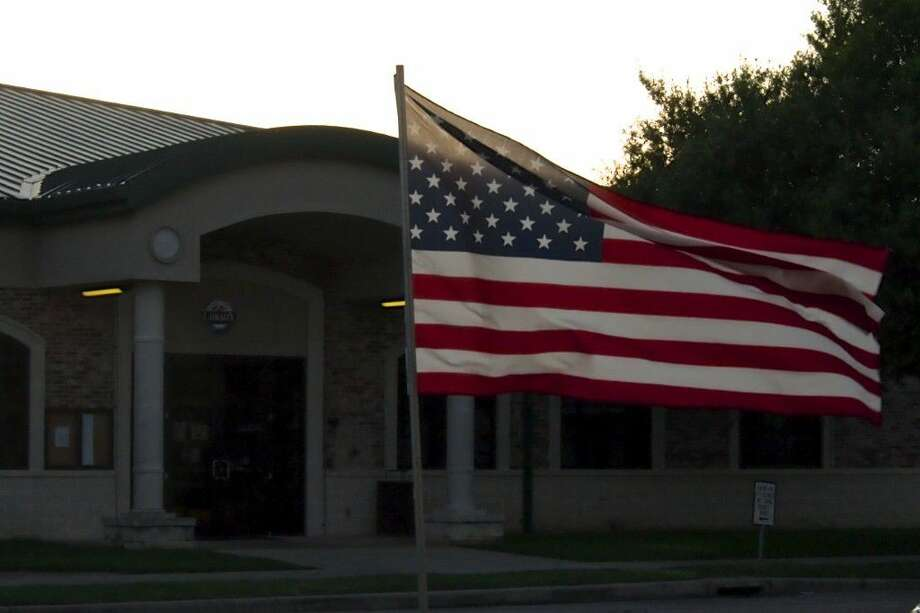 June 14 was Flag Day and members of the Liberty Lions Club described the success of their annual Flag Day fundraiser at the start of Tuesday night's Liberty City Council meeting. Photo: Casey Stinnett