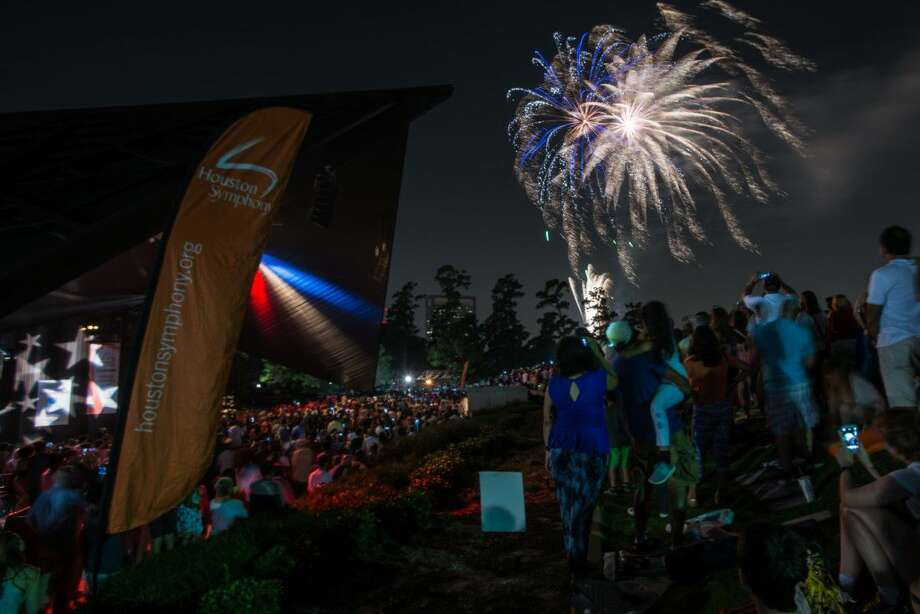 Exxon Mobil Summer Symphony Nights: A Star-Spangled Salute will be held at Miller Outdoor Theatre July 4 at 8:30 p.m. Photo: Photographer
