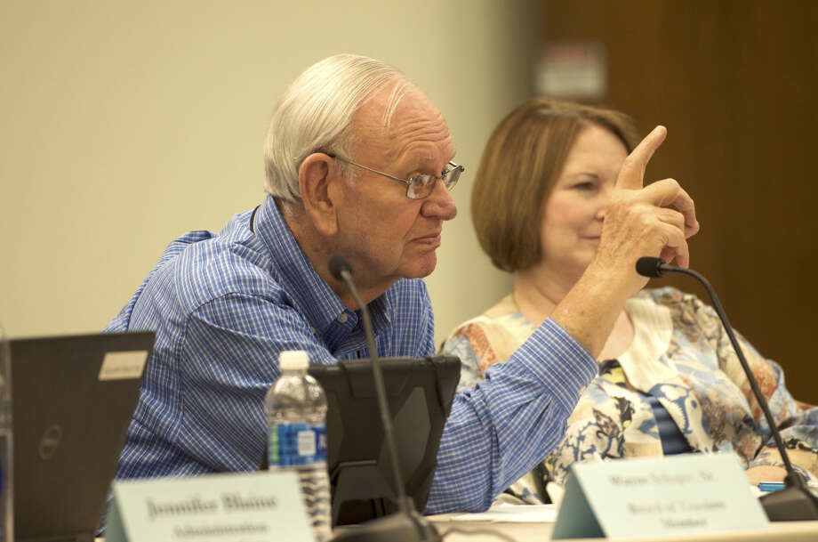 Longtime Spring Branch ISD employee and trustee Wayne Schaper is retiring from the board later this month, almost a full year before his term expires. Photo: Jay R. Jordan