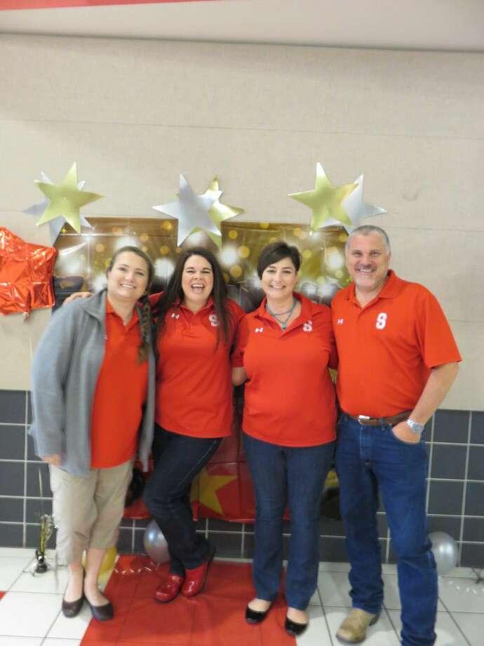 Piney Woods Elementary School winners with school principal, Heath Lucas.