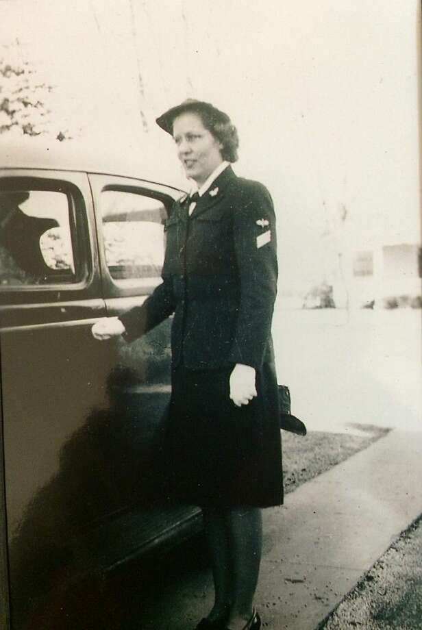 Parkway Place resident Jeanette Eaton served in the Navy during World War II. She returned home after a year and a half of service as an aerographer's mate third class, which is equivalent to a sergeant.