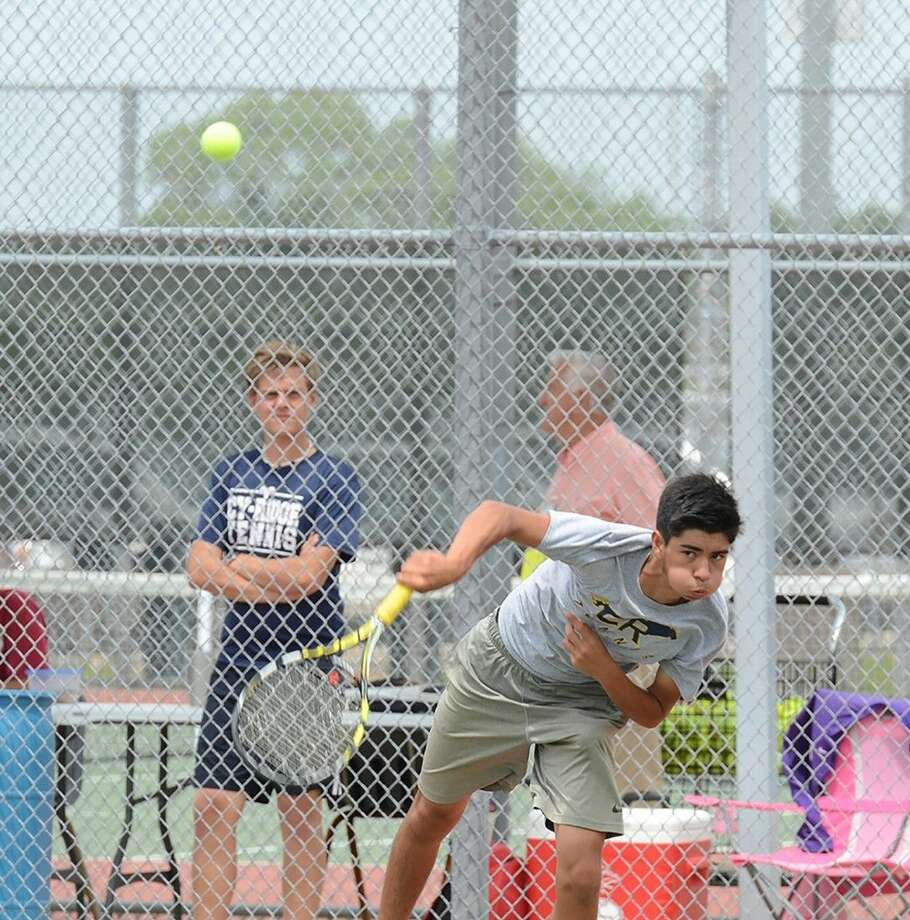 Cypress Ranch's Dylan Payne teamed withAbhi Ramireddy to win the regional title in boys doubles. They'll play in the state tournament May 18-19 in College Station.