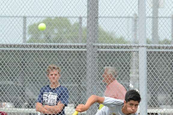 Cypress Ranch High School sophomore Dylan Payne made First Team All-District for Line 1 of boys' singles.